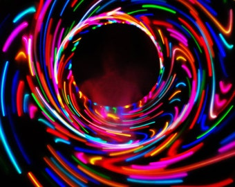 LED Hula Hoop ~ Utopia 2.0 ~ DOUBLE the Bursting Bright Ligths