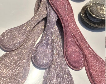 """PREORDER  """"Lavender to Wine"""" Shimmer Trio, small magnetic OliUclips"""