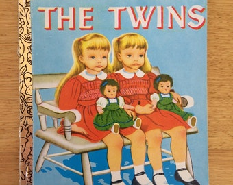 The Twins Vintage 1978 Little Golden Book Softcover Sydney Edition illustrated by Eloise Wilkin
