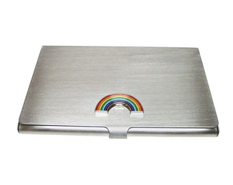 Rainbow Business Card Holder