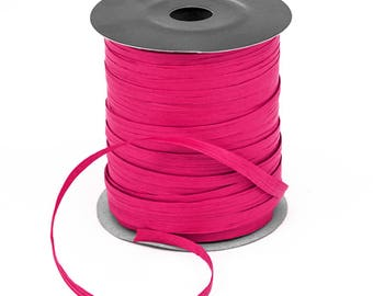 Hot Pink Raffia on a roll 91 metres in length