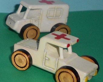 Mini Forces - Ambulance Ute (front)