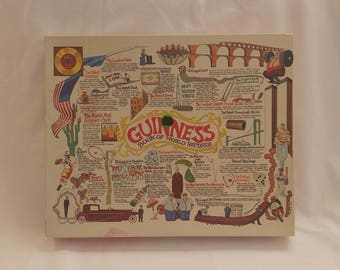 1976 Guinness Book of World Records Jigsaw Puzzle