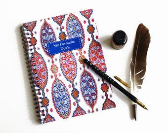 My Favourite Duas A5 Notebook, Islamic Gift Stationery