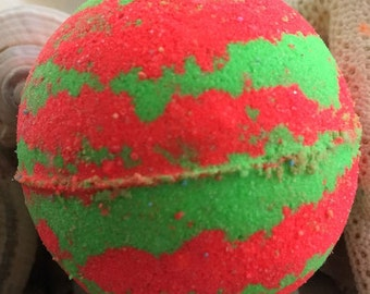 JUICY WATERMELON Bubble Bath Bomb,Bath Fizzie,Bubble Bath,Bubble Bar,Spa Bath Bomb