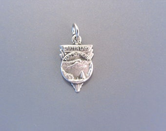 Vintage Sterling Crater Lake National Park Charm