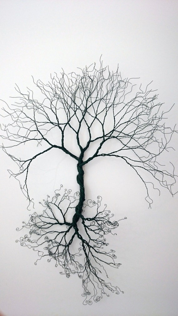 Wire Wall Art Trees