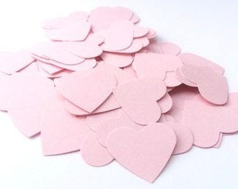 Pink Heart Confetti - Wedding Confetti - Paper Confetti - Gender Reveal - Paper Hearts - Baby Shower Confetti - Pink Party Decor