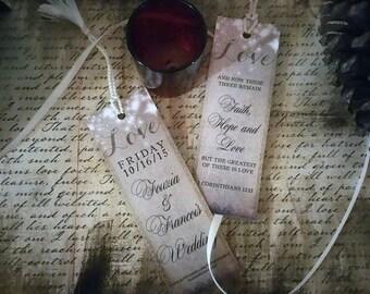 Rustique Save the Date marque-page annonce, mariage de pays cru sauver la carte de date, marque-page imprimable, pays de lumières scintillantes rustique
