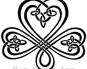 Celtic Angel/Shamrock Coaster