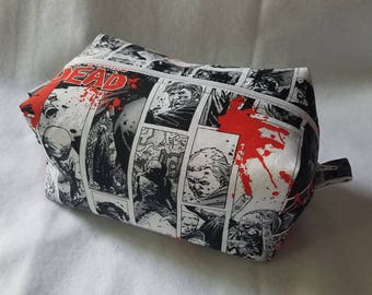 The Walking Dead Box Zipper Pouch