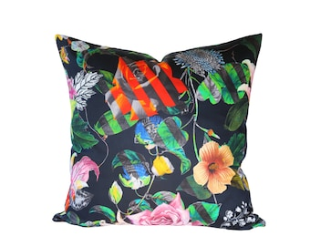 Malmaison Reglisse designer pillow covers - Made to Order - Christian Lacroix