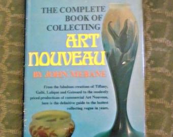 Art Nouveau Collectors Guide Book Hardcover 1970
