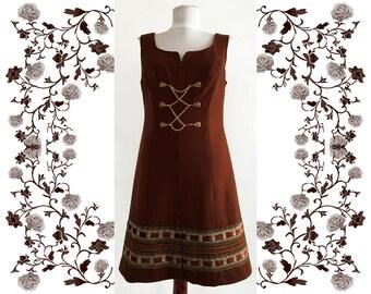 """1960's Vintage Deadstock  NOS """"Hancke""""  Dress"""