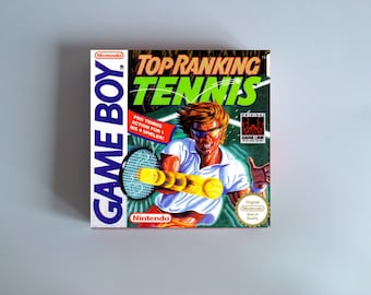 Top Rankings Tennis box only - Game Boy/ GB