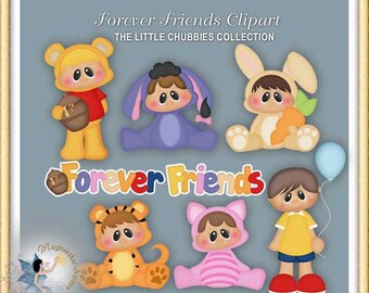 Baby Clipart, Chubbies, Forever Friends