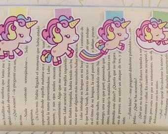 Unicorns — magnetic bookmarks