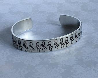 Mandala Cuff Bracelet - Broken Infinity