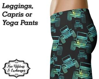 Galaxy Offroad Leggings, Capris or Yoga Pants