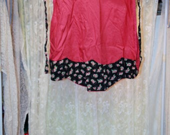 Homemade Red Apron 16″ Front