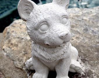 Concrete Terrier Statue Dog Statues Garden Statues Concrete