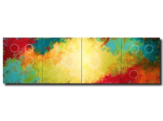 Original Painting,braille artwork,home decor,Large wall art,industrial paintings, orange, jmjartstudio,64 inch, gift for mom, Valentines day