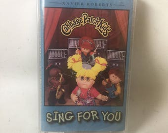 Cabbage Patch Kids Sing for You MINT Cassette Tape