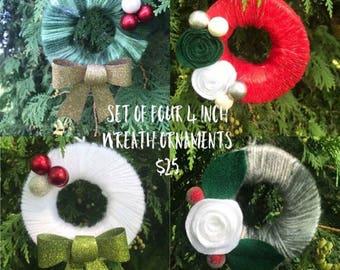 Wreath Ornaments/ Support Adoption/ Adoption Fundraiser