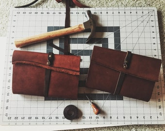Hand Made Leather Travel Journal for Writers, Sketchers and Travelers