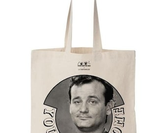tote bag file Bill Murray