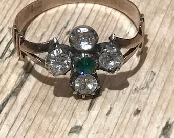 A Georgian Paste Ring