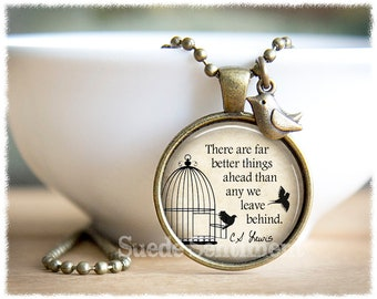 CS Lewis Necklace • Inspirational Jewelry • Jewelry With Quotes • Hope Necklace • Encouragement Gift • Inspirational Gifts