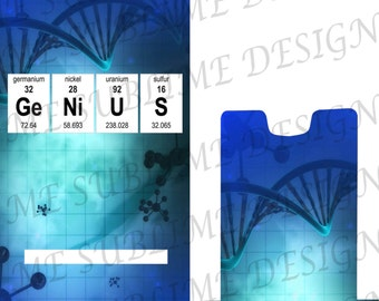 Chemistry Cell Phone Stand. Custom Cell Phone Stand. Periodic Table Phone Stand. Nerd Gift. Geek Gifts. Science Gifts.