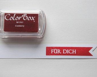 Cranberry  - Pigment Inkpad