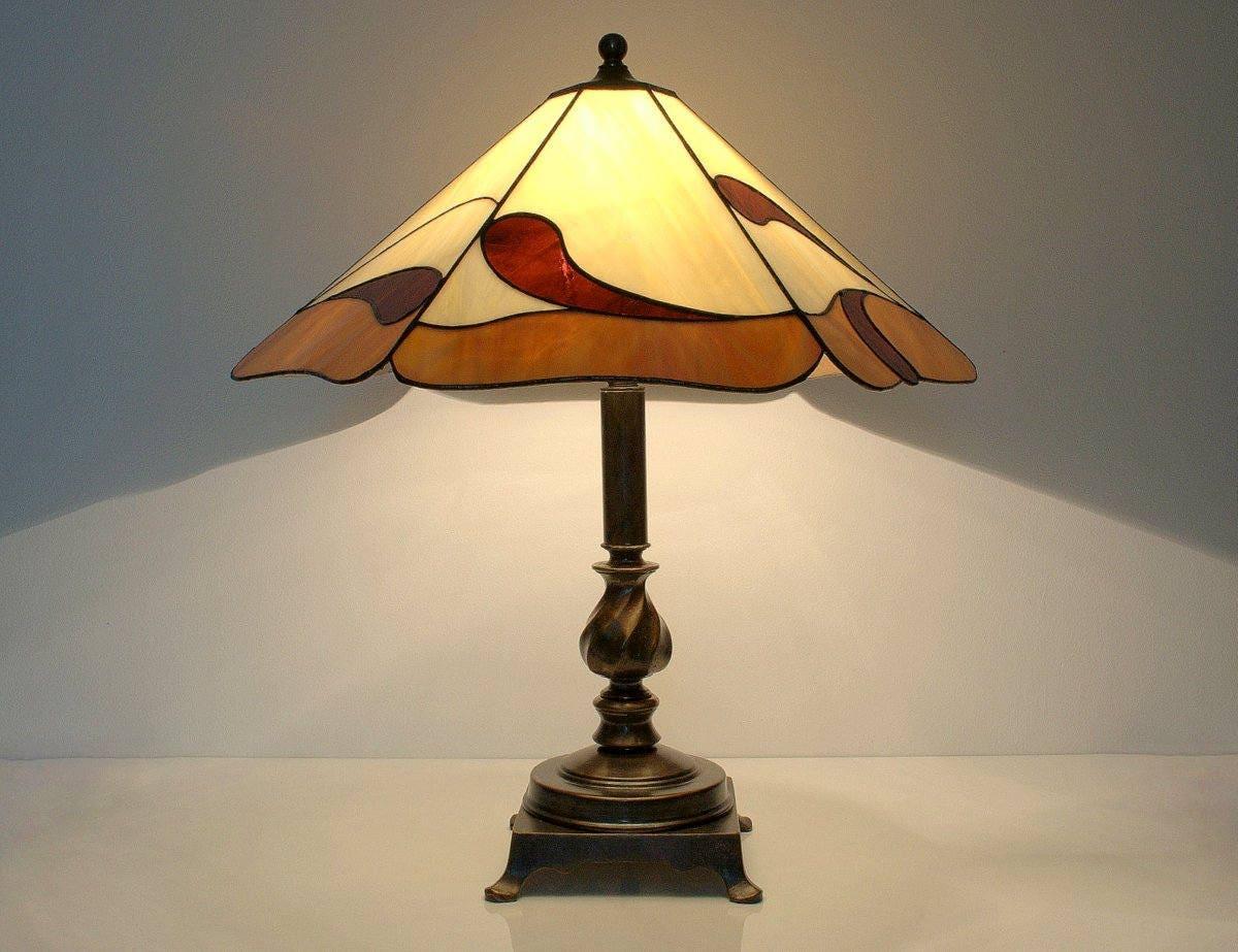 nachttisch lampe tischleuchte tiffany stil lampe. Black Bedroom Furniture Sets. Home Design Ideas