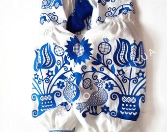LIMITED EDITION! Bohemian Style Embroidered Women's white blouse - Vyshyvanka / Sorochka / boho chic ethnic/ bohemian style  Sizes - XS-4XL