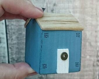Housewarming Gift, Driftwood House, Driftwood Art, Coastal Cottage, Beach House, Driftwood Cottage, Little Wooden Houses, New Home Gift
