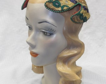 1950s Vintage Bes Ben Hat with Middle Eastern Look