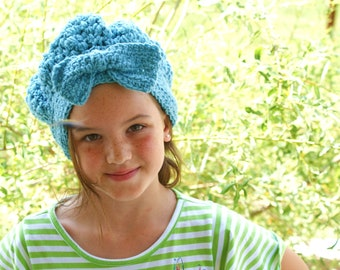 Winter Fashion Hat, Blue Sock Cap, Snow Hat, Womens Fashion Hat, Vintage Style Cloche, Ladies Winter Beanie, Dress Hat, Womens Crochet