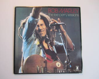 Bob Marley - The Lee Perry Sessions - Double LP 2 Two Record Set - Vintage Vinyl Record Album -  Compilation Re-Issue 1983