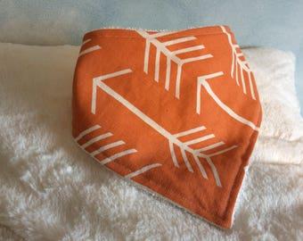 Orange you glad bandana bib