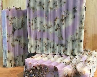 Organic Lavender Bud All Natural Vegan Soap
