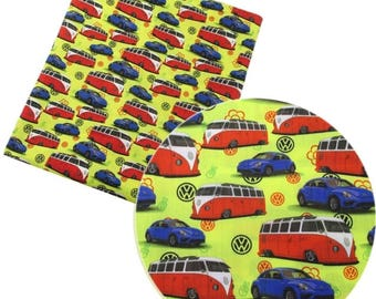 vw cars fabric