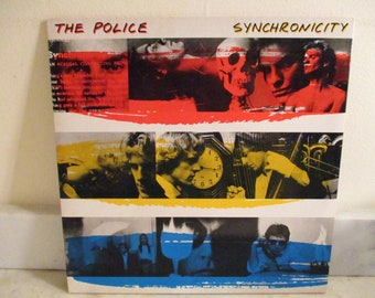 Vintage 1983 LP Record The Police Synchronicity Excellent Condition Rare Purple Translucent Vinyl RYB Cover 16031