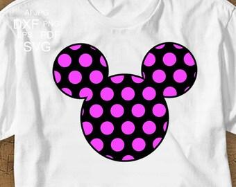 Mickey Mouse Svg Disney Svg Disney Shirt svg Mickey Svg Minnie Svg Disney Trip SVG Disney Dxf Disney clipart dxf eps Cricut Silhouette