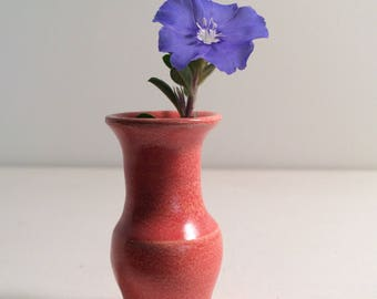 Miniature Pottery Vase - Hand Thrown