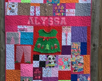 Custom T-Shirt Quilt (deposit only)