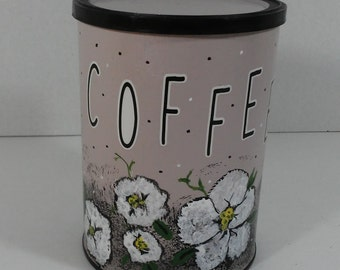 Upcycled Coffee Canister
