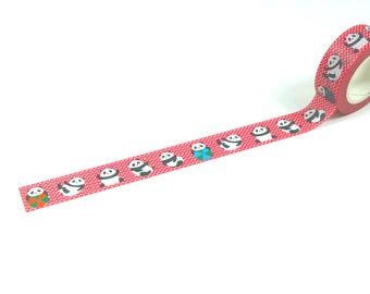 Cute Panda Washi Tape 15mm