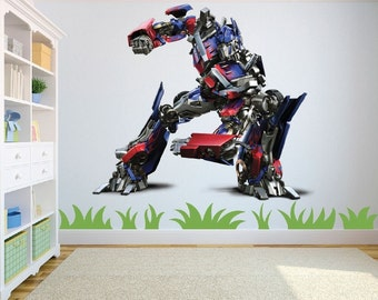 Transformers Optimus Prime in 2 different designs/size - See Pictures Wall Art Sticker/Decal Children's room